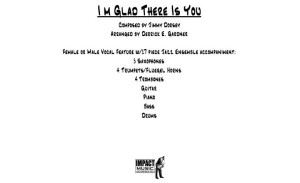 I'm Glad there Is You** - Vocal Feature