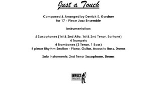 Just A Touch***