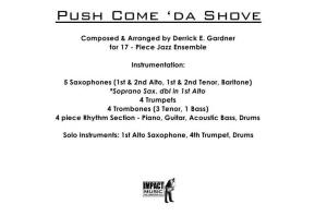 Push Come Da Shove