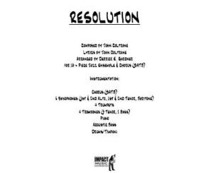 Resolution***