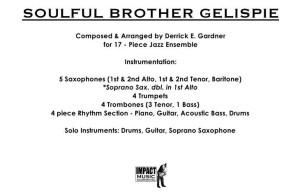 Soulful Brother Gelispie***