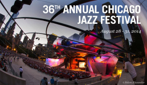Derrick plays with Rufus Reid's Out Front at Chicago Jazz Fest - Aug 29th