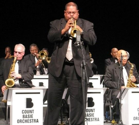 Derrick E. Gardner hits the road once again with The Legendary Count Basie Orchestra
