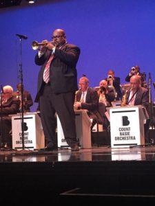 Derrick Gardner plays w/ The Count Basie Orchestra, July 30-Aug 12